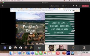 Student Senate Believes Survivors