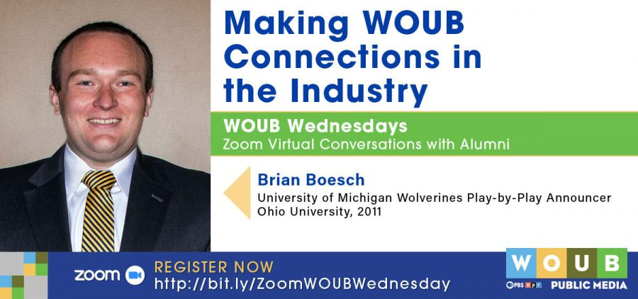 Brian Boesch WOUB promotional image