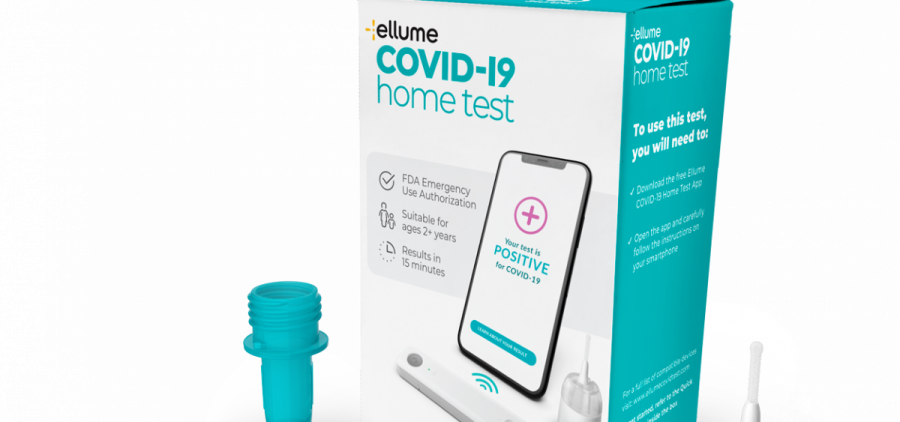 Ellume Limited, an Australian company, manufactures a 15-minute at-home test for the coronavirus which causes COVID-19.