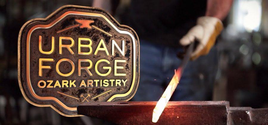 Urban Forge: Ozark Artistry title slide