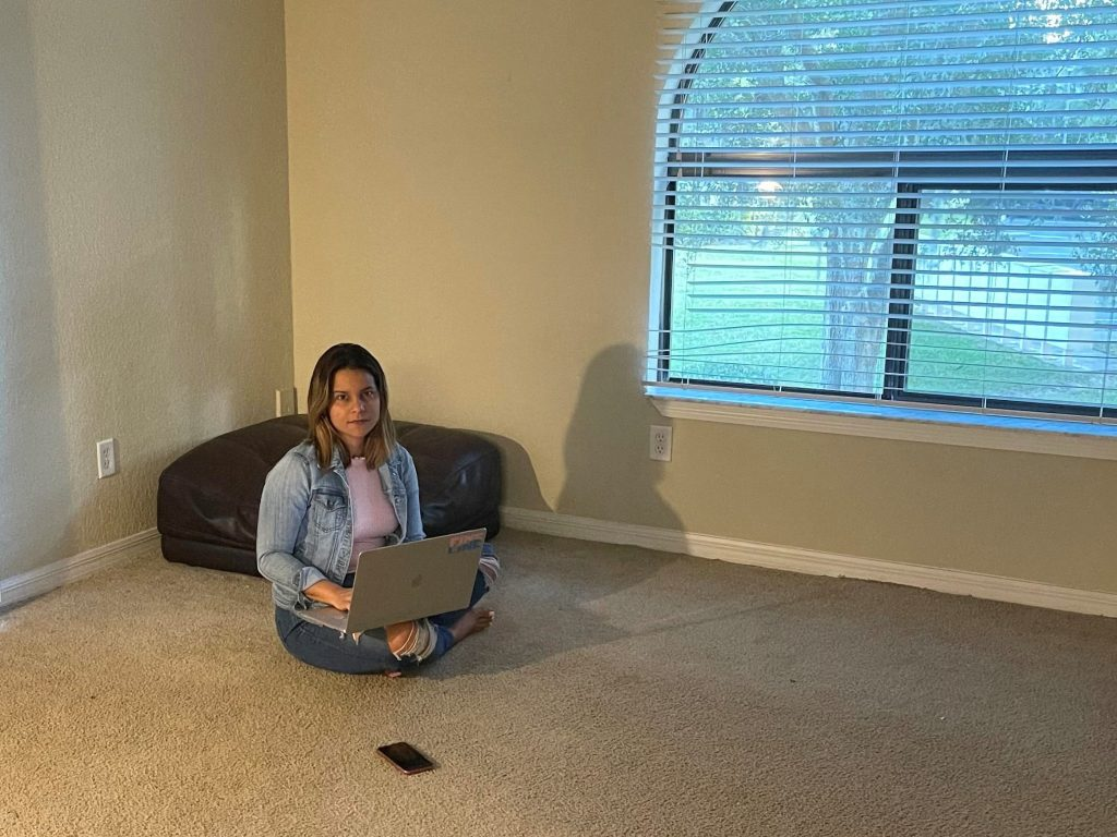 Sheila Ambert says the family has been selling furniture to raise money and in case the landlord is successful in evicting them and they are forced to leave on short notice.