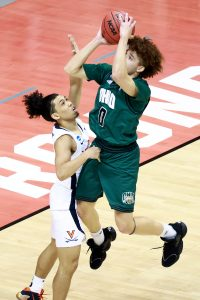 he Virginia Cavaliers take on the Ohio Bobcats in the first round of the 2021 NCAA Division I MenÕs Basketball Tournament held at at Simon Skjodt Assembly Hall on March 20, 2021 in Bloomington, Indiana. (Photo by Grant Halverson/NCAA Photos via Getty Images)