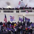 In this Wednesday, Jan. 6, 2021, file photo, violent rioters supporting President Donald Trump, storm the Capitol in Washington.