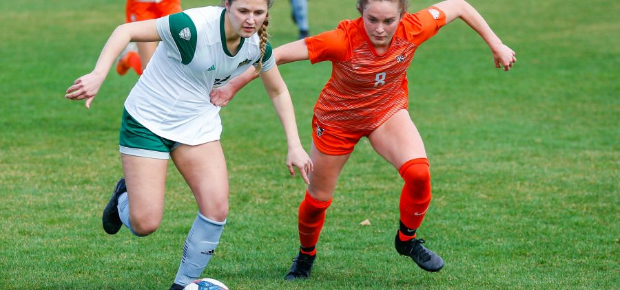Ohio Soccer played against Bowling Green on Sunday, March 28, 2021. (Photo: Midge Mazur/Ohio Bobcats Athletics)