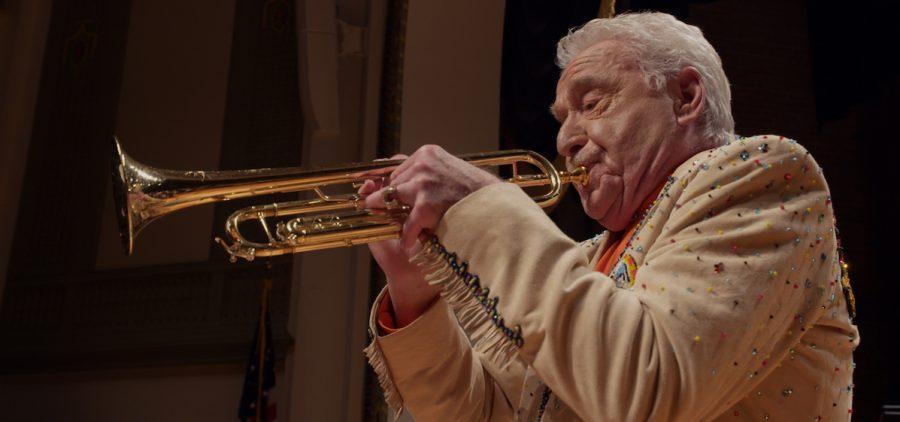 Doc Severinsen performing for audiences in his nineties.