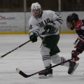 The Ohio Bobcats Hockey team took on the Liberty Flames on Saturday, March 6, 2021. The Bobcats fell to the Flames, 4-3. (Photo: Chris J. Day/WOUB)