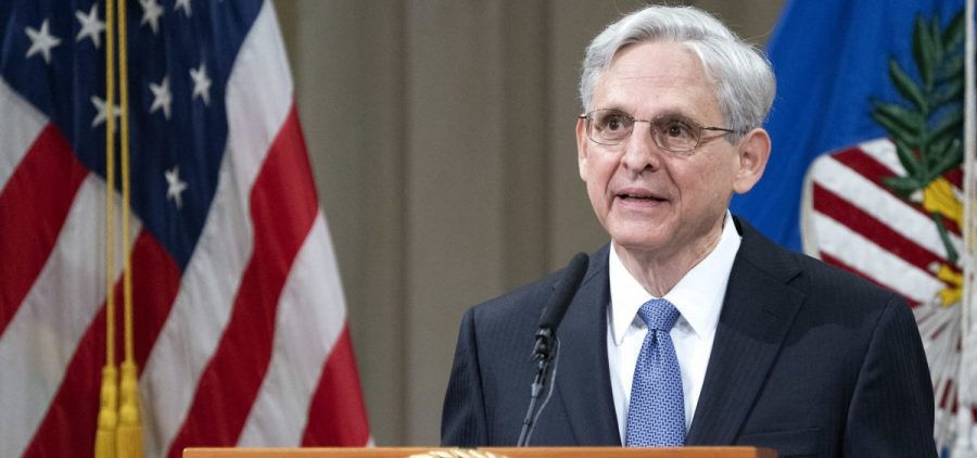 Attorney General Merrick Garland, pictured on March 11, said Friday the Justice Department will continue its effort to deter and punish coronavirus-related fraud.