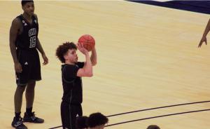 Ohio Men's Basketball Jason Preston shooting a free throw