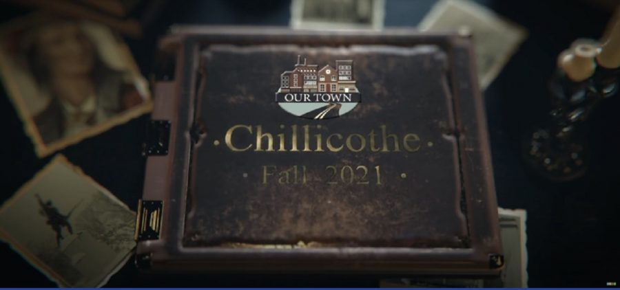 Scrapbook with Our Town Chillicothe logo