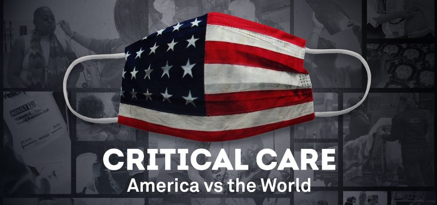 USA Flag medical mask