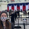 Katie Primm at Inauguration
