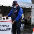 Nearly a third of adults in the U.S. have gotten at least one shot of the COVID-19 vaccine so far, but researchers warn that vaccine refusal may keep the country from reaching herd immunity.