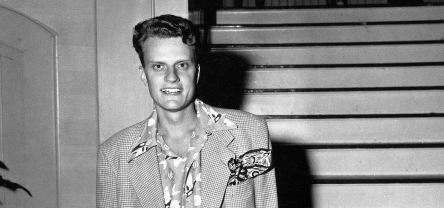 A young Billy Graham