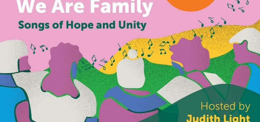 WE ARE FAMILY: SONGS OF HOPE AND UNITY logo