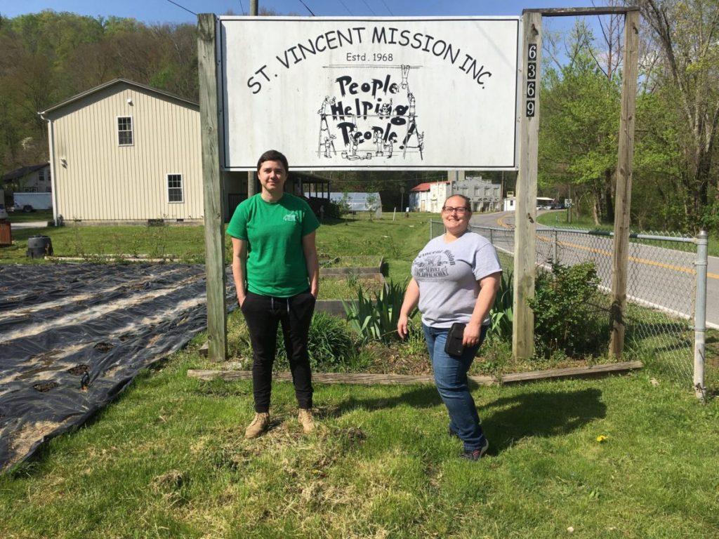 St. Vincent's Mission Executive Director Erin Bottomlee (left) and Emergency Assistance Director Jennifer Farkas-Sparkman.