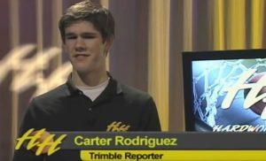 Carter Rodriguez on Hardwood Heroes