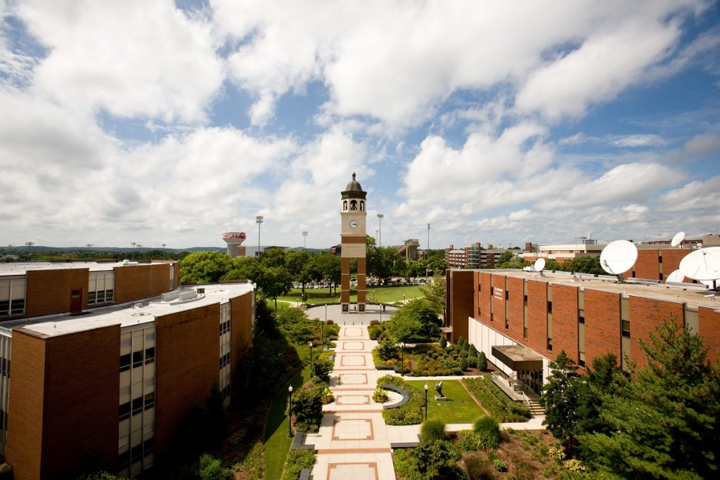 Guthrie Tower on the campus of Western Kentucky University