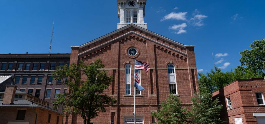 Athens City Hall is seen in Athens, Ohio, on Tuesday, June 22, 2021. [Joseph Scheller | WOUB]