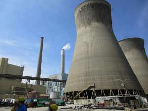 The John Amos power station in West Virginia