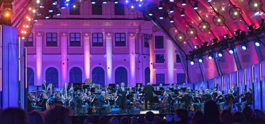 Vienna Philharmonic on stage
