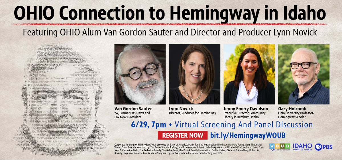 Hemingway Event promotional graphic