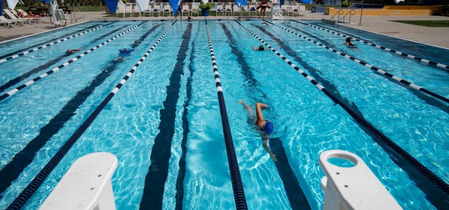Athens Public Pool is seen in Athens, Ohio, on Monday, July 26, 2021. [Joseph Scheller | WOUB]