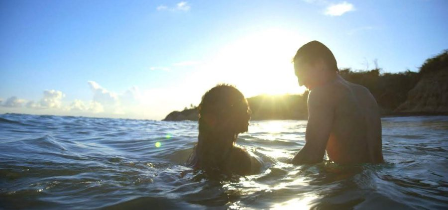 Couple in Vieques, Puerto Rico.