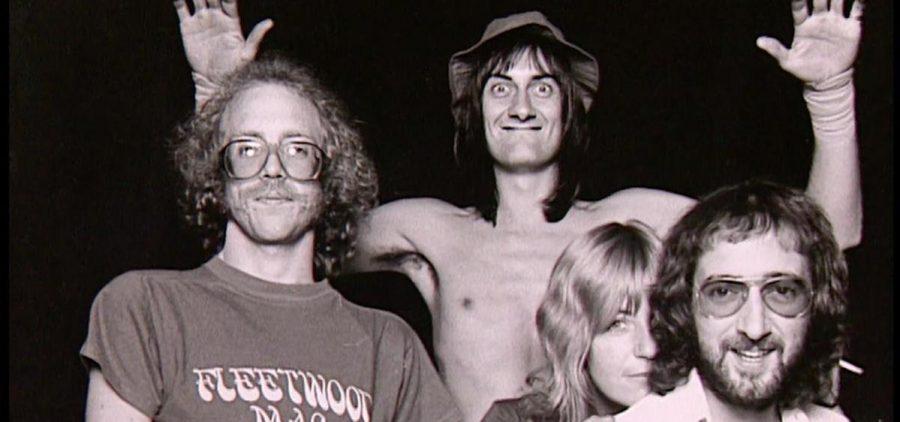 Fleetwood MAC black & white photo