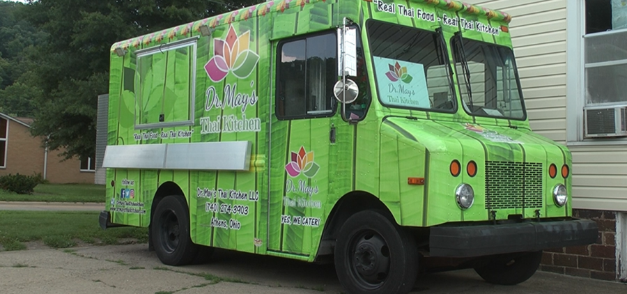dr. may's thai kitchen food truck