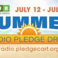 WOUB July Pledge Drive Graphic