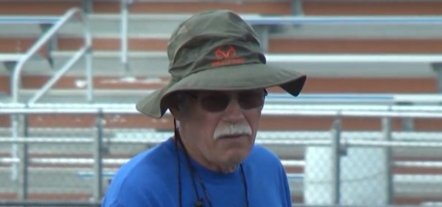 Licking Valley Head Football Coach Randy Baughman