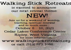 walking stick retreat
