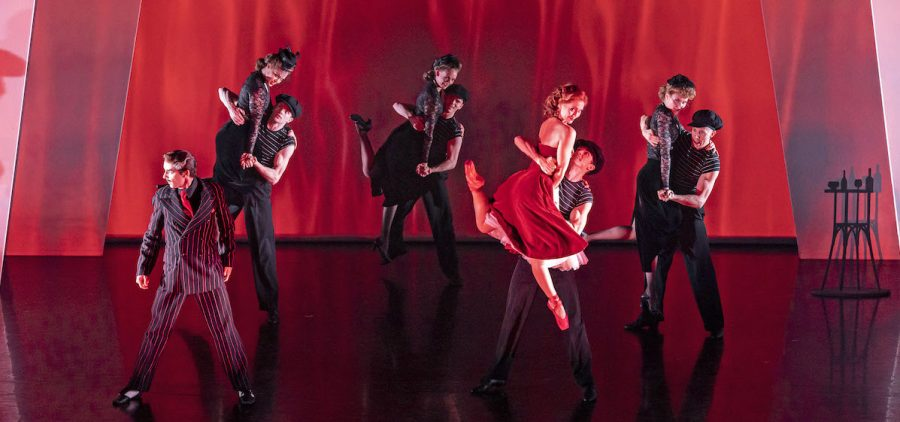 """Company of """"The Red Shoes."""""""
