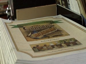 Booklet on the Cannabis Museum