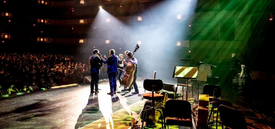 Punch Brothers performing American Folk Music