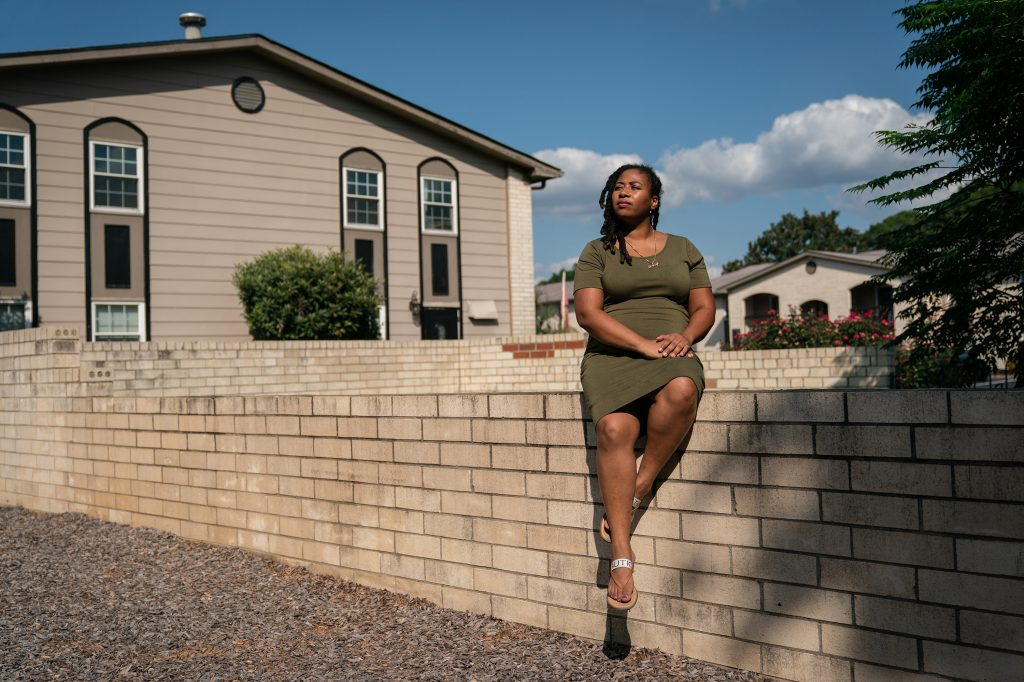 Akira Johnson has been facing eviction because her landlord would not accept payment from South Carolina's rent and utility assistance program.