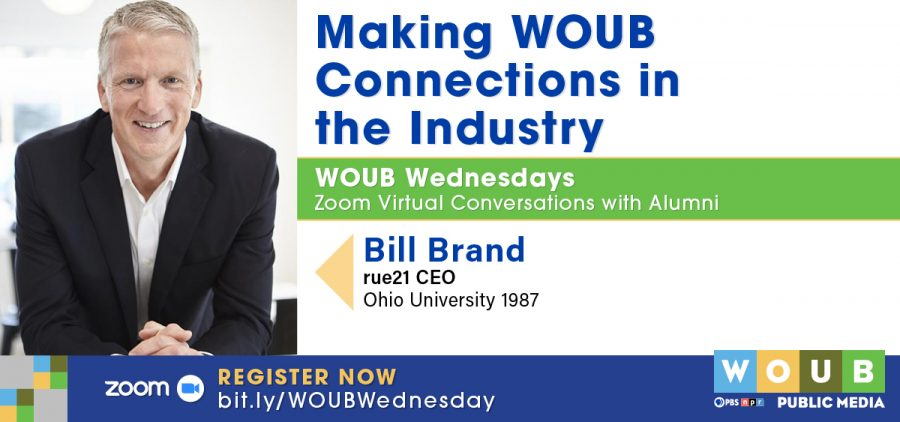 WOUB Wednesday Bill Brand promotion graphic