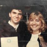 Levine and Schaffner at Ohio University graduation