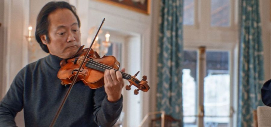 Scott Yoo playing violin