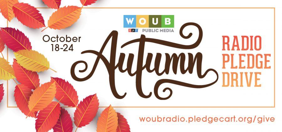 Autumn Radio Pledge graphic