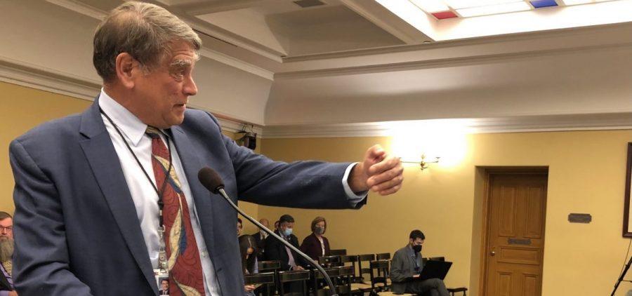 Ross McGregor, Ohio Manufacturers' Association, testifies against HB435
